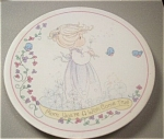Enesco Precious Moments Mini Plate For Mom
