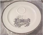 Harker Presidential Series White House Plate