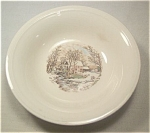 Edwin Knowles Covered Bridge Dessert Bowl