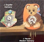 Two German Windup Clocks - Engstler And Houser