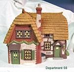 Department 56 Dickens Village Cobb Cottage