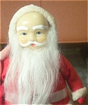 Old Rubber Face Santa Doll