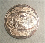1971 Franklin Mint Bronze Christmas Coin