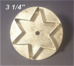19th C. Flatback Iron Tin Star Cookie Cutter