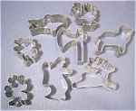 Old Tin Cookie Cutters