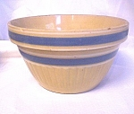 Yellow Ware Blue Band Bowl