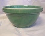 Green Glazed Earthenware Bowl