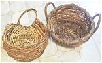 Vintage Vine Baskets --one For Table, One For The Door