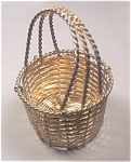 Decorative Woven Metal Basket