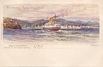 Hamburg Amerika Linie Postcard Dep. No 2070 Havana