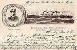 Kaiser Wilhelm Der Grosse And Capt H Engelbart Postcard