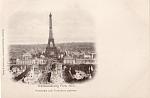 1900 Paris Expo Panorama Vom Trocadero Gesehen Pc