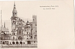1900 Paris Exposition Postcard - Das Deutsche Haus