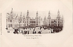 1900 Paris Expo Postcard Avenue Alexander Iii