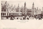 1900 Paris Exposition Postcard Invalidenstrasse