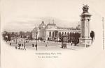 1900 Paris Exposition Postcard Vor Dem Kleinen Palast