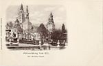 1900 Paris Expo Postcard Der Sibirche Palast