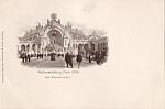 1900 Paris Exposition Postcard - Das Wasserschloss