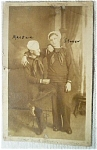 Real Photo Postcard Navy Sailors