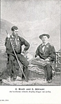 Swiss Musicians Real Photo Postcard Riedli Und Bartschi