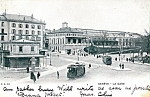1903 Geneve La Gare Trolly Cars Ambulant No 5 Cancel