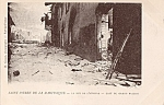 Rppc Saint Pierre Martinique Volcano Ruins Postcard