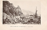 Saint Pierre Martinique Volcano Ruins Rppc