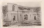 Rppc Saint Pierre Martinique Volcano Ruins Cathedral