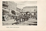 Havana Plaza De San Francisco Rppc Mules And Carts