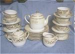 Noritake Chikaramachi Painted Tea Set & Dessert Plates