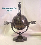 Meriden Victorian Figural Mechanical Covered Butter