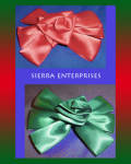 Satin Bow Hair Clips