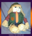 Scarecrow Folk Art Doll