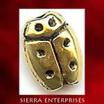 Ladybug Spacer Beads