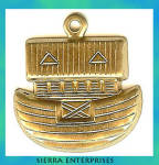 Noah's Ark Brass Charms