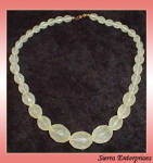 Graduated Bead Necklace 17 Inch