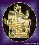 Haunted House Musical Pin