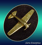 Airplane Brooch Aviation Pin