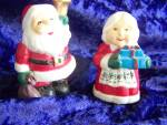 Mr & Mrs Santa Claus Salt & Pepper