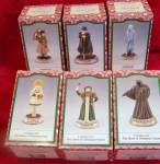 Susan Safire Christmas Carol Set 6 Figurines
