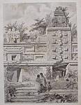 Ruines D'un Palais, A Uxmal