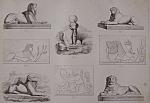 Sphinx, Lions Et Beliers Egyptiens