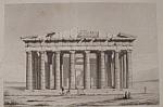 Le Parthenon Ou Temple De Minerve A Athenes