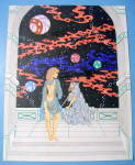 World In Motion - Original Nude Fantasy Drawing