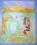 """winged Beauty"" - Original Nude Fantasy"