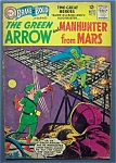 The Green Arrow & Manhunter From Mars Comic - Nov 1963