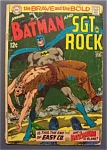 Batman & Sgt. Rock Comics # 84 - July 1969