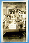 Riverview Park Women On Train Picture Postcard-chicago