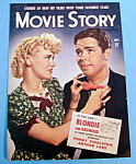 Movie Story Magazine Cover June 1941 Singleton/lake