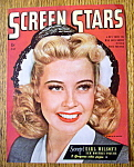 Screen Stars Magazine Cover July 1945 Gloria De Haven